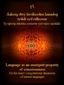 Language as an emergent property of consciousness Cover