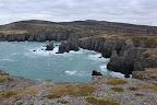 COUPE-COUPE L'Est de Terre Neuve est réputé pour ses falaises sauvages et très découpées