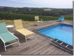 zwembad stoelen