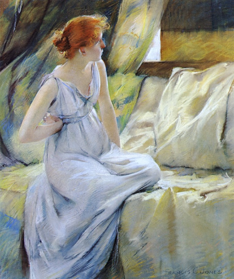Francis Coates Jones - Woman in Classic Dress
