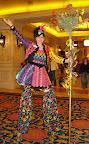 Kaleidoscope on stilts
