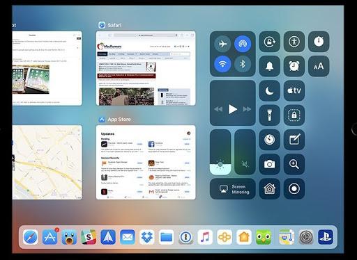 iOS 11 app switcher