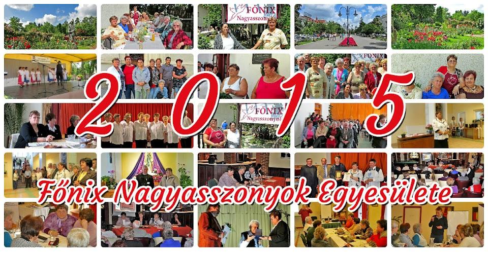 Főnix Somogyi Nagyasszonyok 2015 első félév eseményeinek