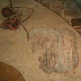 Chapelle Saint-Etienne : vestiges de fresque