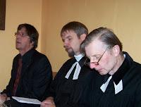Oslav se účastnili tři evangeličtí faráři: Reiner Eppelein (Nittenau), Jan Satke (Přeštice) a Pavel Kučera (Aš)