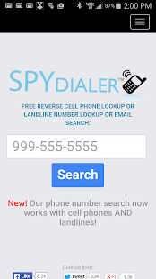 Spy Dialer- screenshot thumbnail