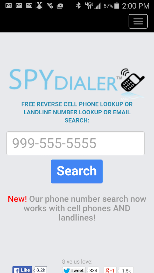 Spy Dialer- screenshot