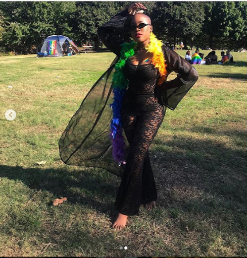 Charly Boy's Daughter Dewy Oputa And Her Partner SJ Celebrate Their First Pride As A Couple (Photos) 1