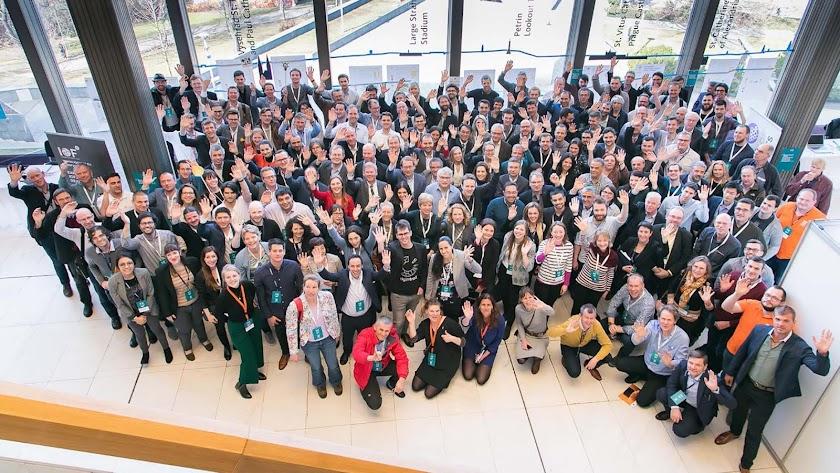 Participantes en los eventos de digitalización agrícola.