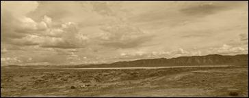 Nevada, I-80, Spring 2016, Sepia