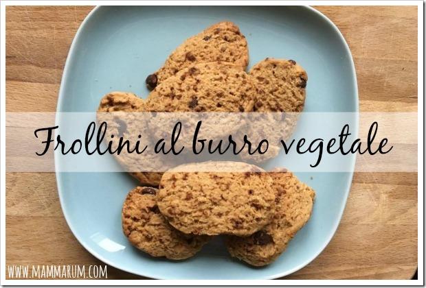 biscotti margarina vegetale