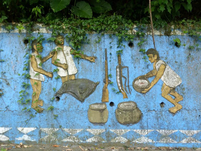 Puli  en passant , entre autres, par les villages de l ethnie Bunum de Loloko et Dili. J 10 - P1160999.JPG