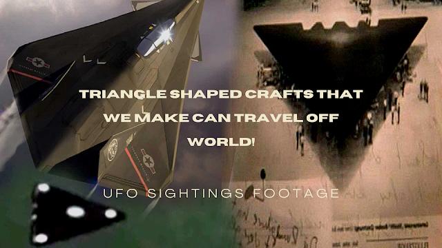 Triangle shape craft filmed by eye witness.