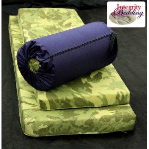 Large 3 Thick Orthopedic Memory Foam Camping Pad 3mfocmp Roll N
