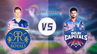 Rajsthan Royals vs Delhi Capitals IPL