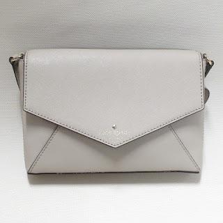 Kate Spade Beige Leather Crossbody Bag