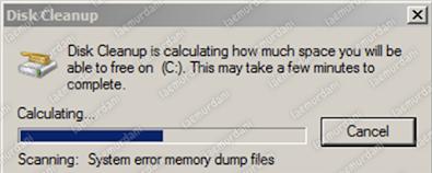 cara scan disk cleanup laptop agar tidak lemot