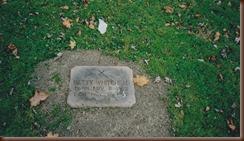 Whitehead Elizabeth tombstone