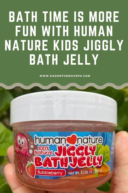 Human Nature Kids Jiggly Bath Jelly nest natural bath products for kids