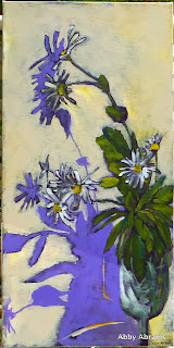 Montauk Daisies, 10in.x20in.