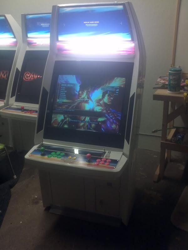 Fs Parts Sega Blast City Arcade Cabinet Wired For Xbox 360