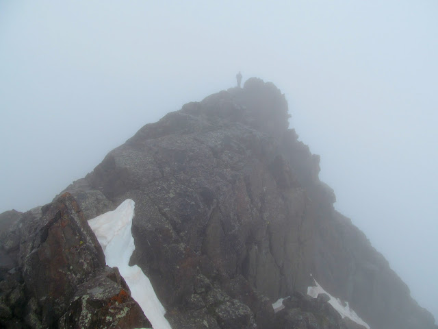 Chris on the Mount Sneffels summit