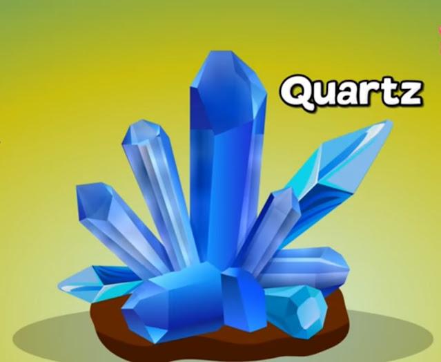 quartz basic ingredient of glass