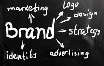 Branding word
