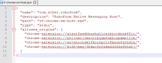 RoboForm being disabled - Google Product Forums