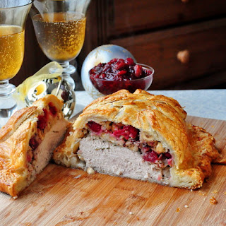 Cranberry Hazelnut Turkey Wellington.