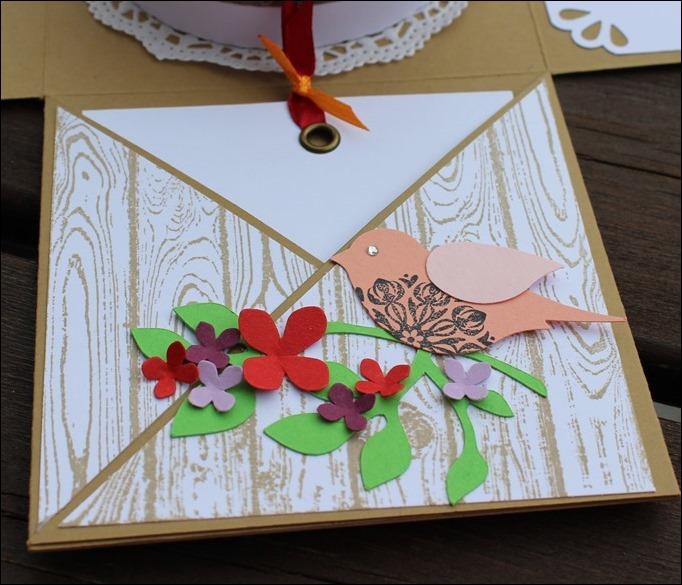 Explosion Box Stampin Up 10th Anniversary Hölzerne Hochzeit Wedding Rose Flowers 06a