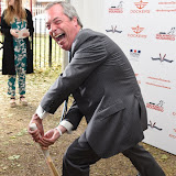 OIC - ENTSIMAGES.COM - Nigel Farage at the Dockers Flannels for Hero's Charity cricket match and Garden party Chelsea London 19th June 2015  Photo Mobis Photos/OIC 0203 174 1069