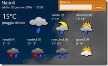 Previsioni meteo