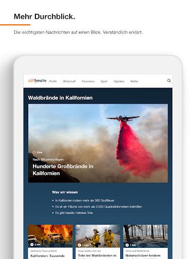 ZDFheute - Nachrichten 3.3 screenshots 11