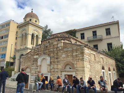 Monastiraki Square church