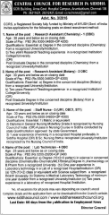 CCRS Vacancies 2017 indgovtjobs