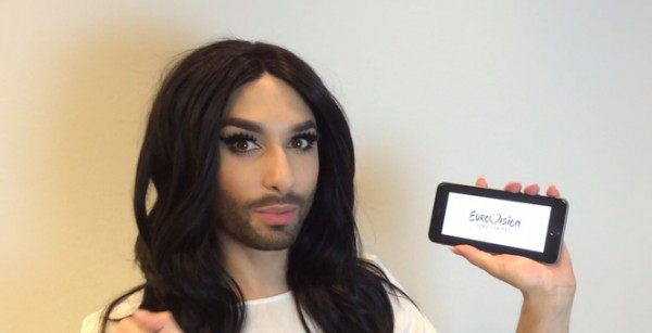 Conchita and twitter hashflags 600x307