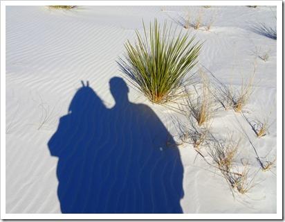 White Sands National Monument.