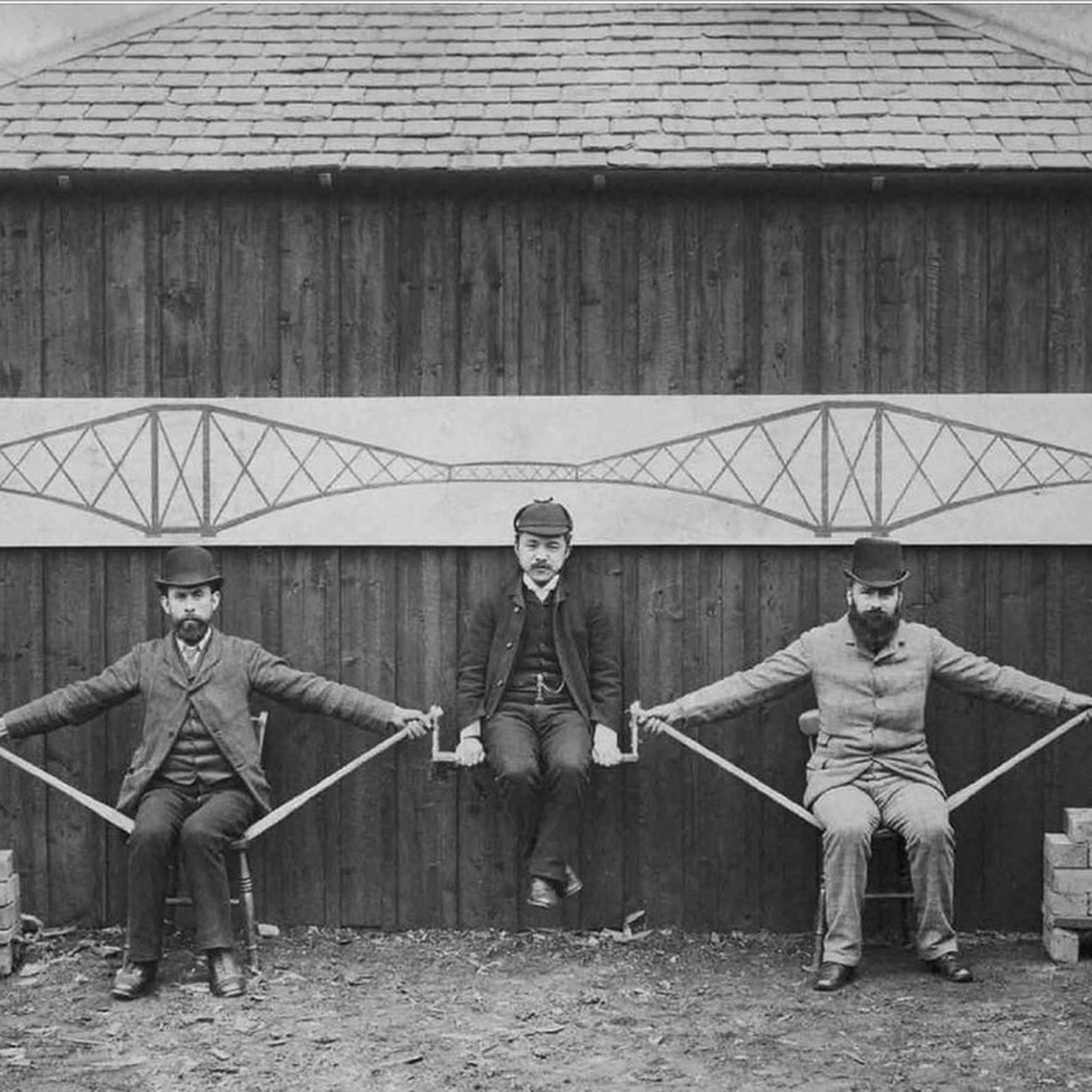 Demonstration of a Cantilever Bridge