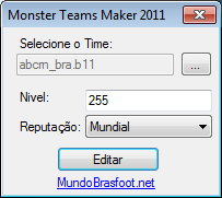 Monster Teams Maker - Brasfoot 2011