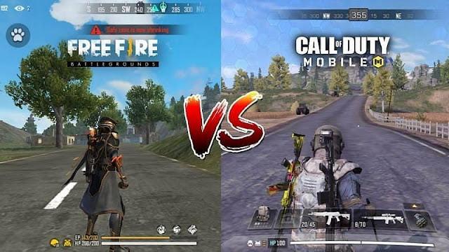 COD Mobile vs Free Fire: Hangi oyun PUBG Mobile'a daha iyi bir alternatiftir?