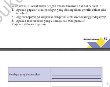 Kunci jawaban dan pembahasan soal bahasa indonesia kelas xi semester 2. Kunci Jawaban Bahasa Indonesia Kelas 10 Tugas Halaman 57 58 Bab 2 Ilmu Edukasi