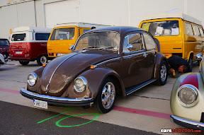 Brown VW Beetle