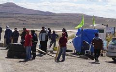 Blockade bei San Julian