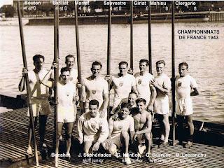 1943-La saison de l'équipe de France d'aviron
