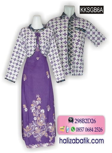 Gambar Baju Batik, Baju Online, Batik Couple, KKSGB6A
