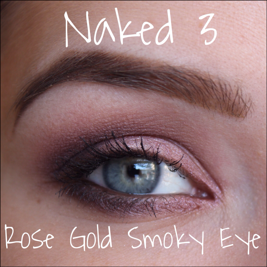 Neeners makeup naked 3 everyday rose gold smoky eye naked 3 everyday rose gold smoky eye baditri Images
