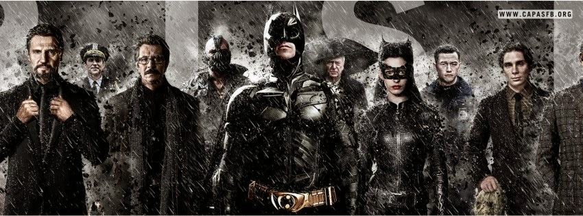 Capas para Facebook Batman The Dark Knight Rises