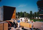 Parish Workbee Installing pews Sept 94