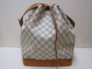 Louis Vuitton Noe Damier Azur Shoulder Bag